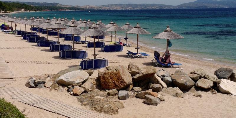 Blue Dolphin beach | Sithonia Greece
