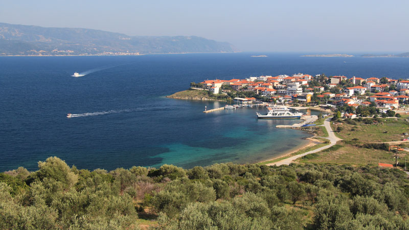 Ammouliani Island an island paradise in Halkidiki Sithonia Greece