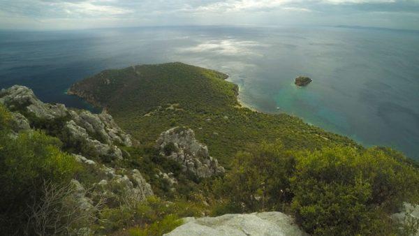 Toroni hike to hidden beach